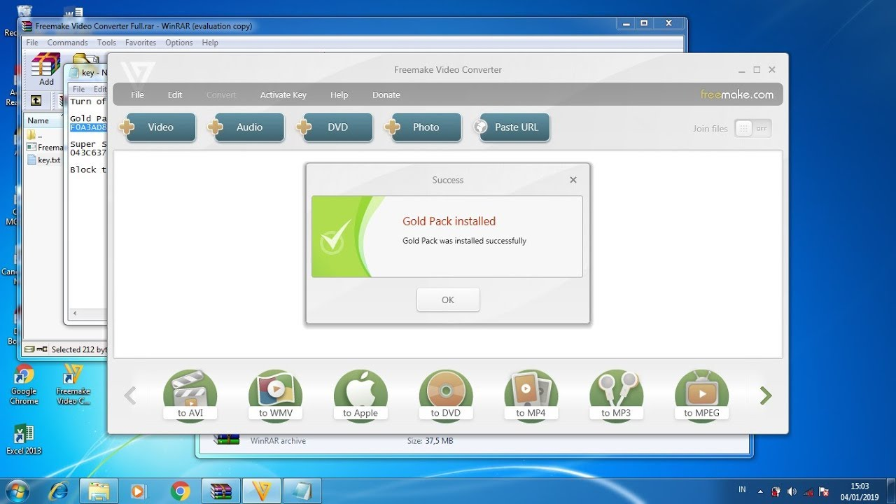 Freemake Video Converter Crack 4.1.11.100 Key With Full Download