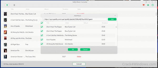 Sidify Music Converter Crack 2.1.6 Latest Version Free Download