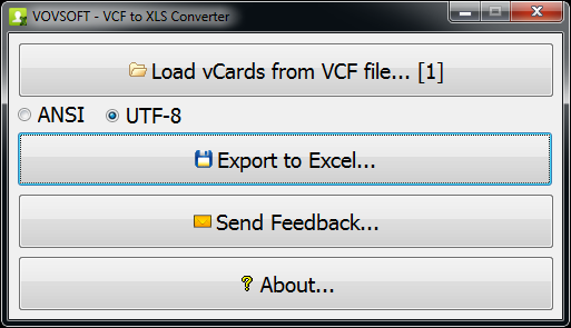 VovSoft VCF to CSV Converter Crack 2.8.0 Latest Version