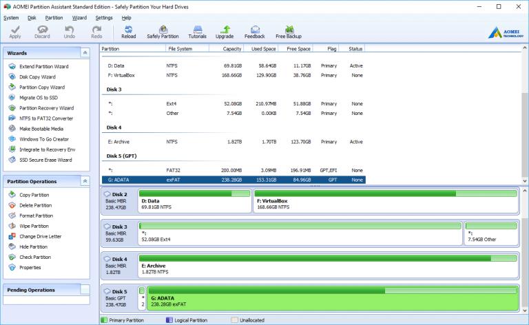 AOMEI Partition Assistant Crack 9.0 Latest Version