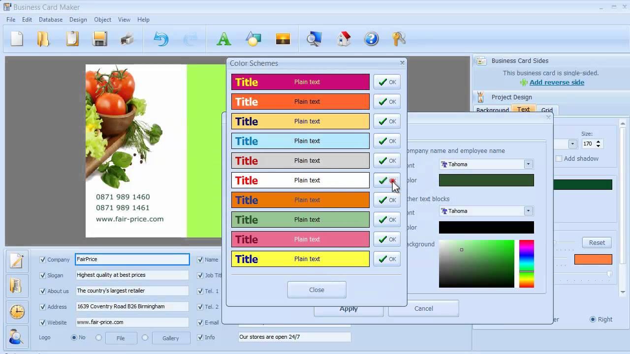 Business Card Designer Crack 6.0 Latest Version Free Download
