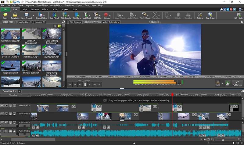 VideoPad Video Editor Pro Crack 8.97 Latest Version Free Download