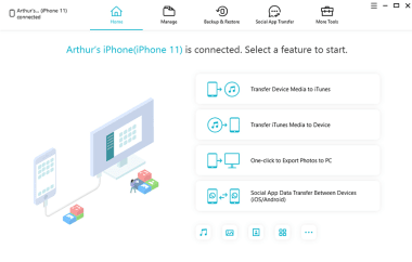 Tenorshare iCareFone 7.5.0.12 + Key Latest Version Free Download