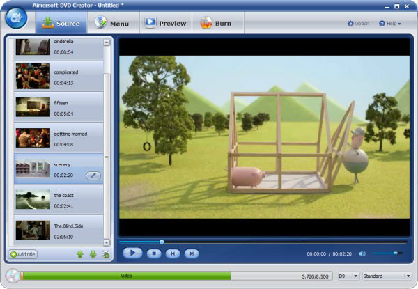 Aimersoft DVD Creator Crack 6.3.2.158 Latest Version