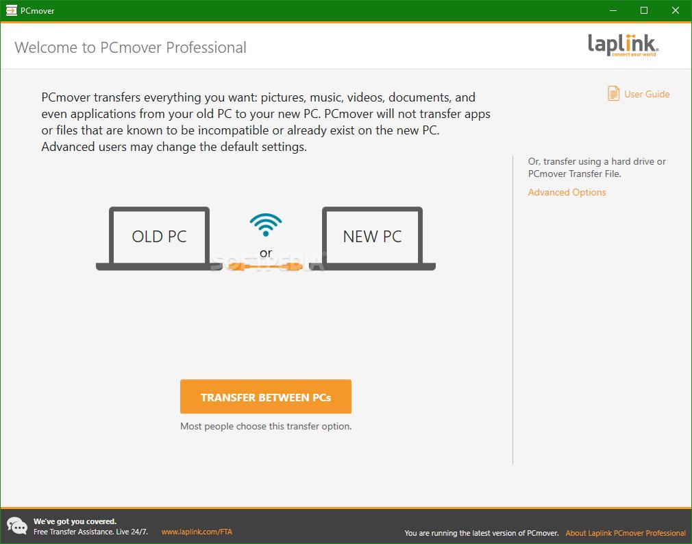 Laplink Software PCmover Crack 11.2.1013.422 Latest Version