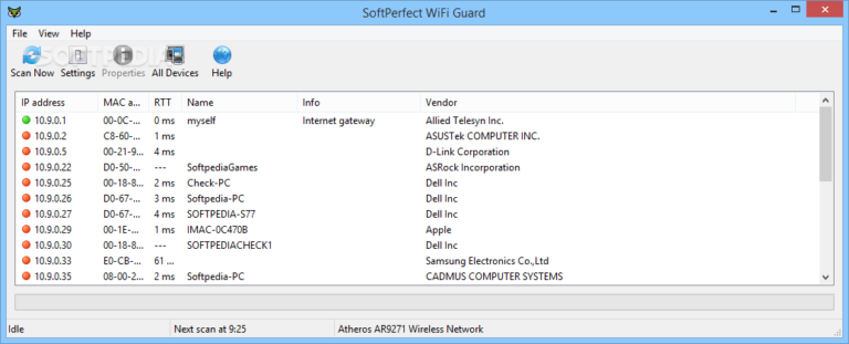 SoftPerfect WiFi Guard License Key 2.1.4 Latest Version Free Download