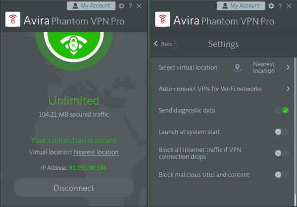 Avira Phantom VPN Pro Full Crack 2021 For Windows PC